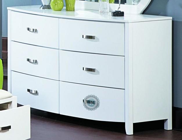 Lyric White Dresser