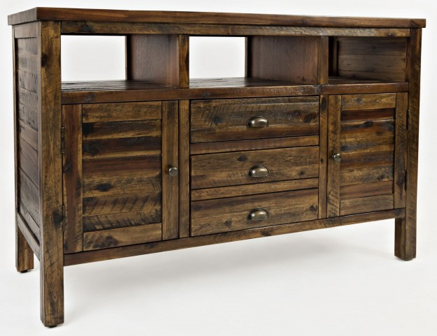"Artisans Craft 50"" Dakota Oak Media Console"