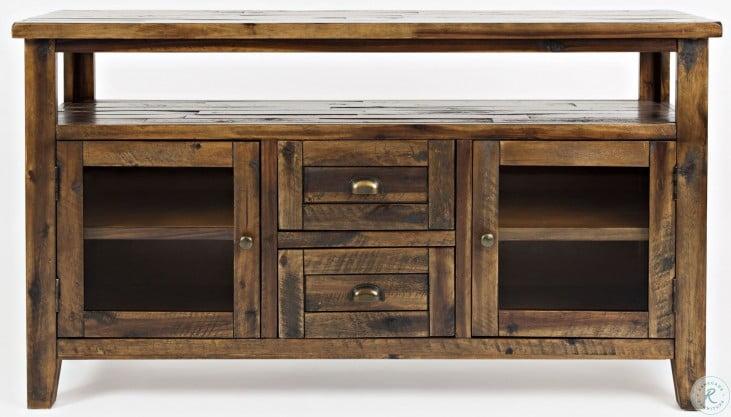 Artisans Craft Dakota Oak Storage Console