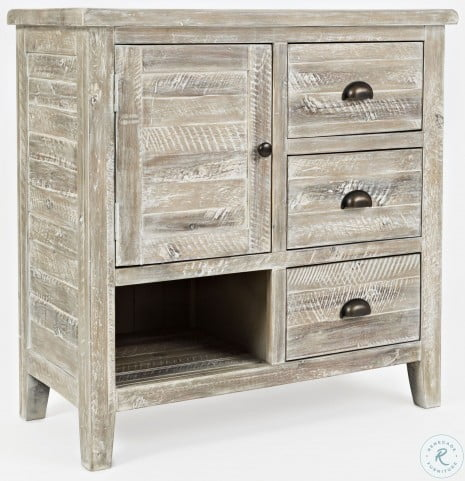 Artisans Craft Washed Grey Accent Chest