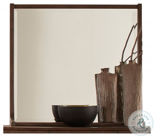 Ruote Brown Gray Mirror