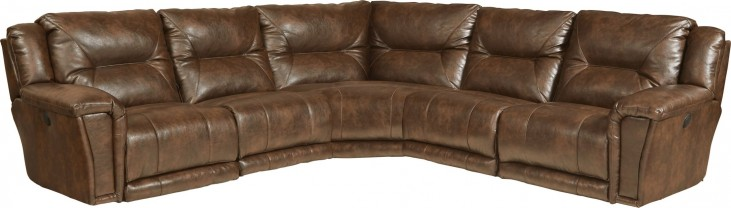 Montgomery Timber Power Reclining Sectional