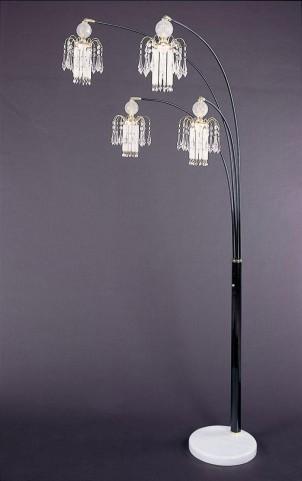 Glass Floor Lamp 1771N