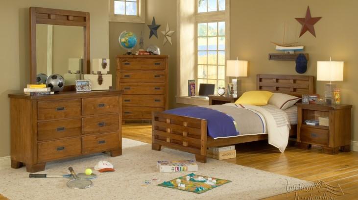 Heartland Captain's Storage Bedroom Set