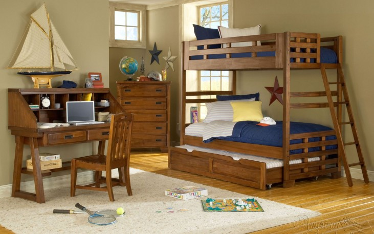 Heartland Bunk Bedroom Set