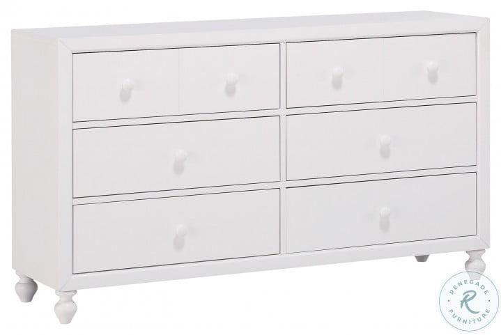Wellsummer White Dresser