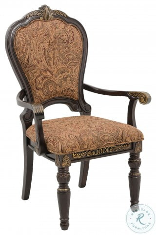 Russian Hill Cherry Arm Chair Set of 2