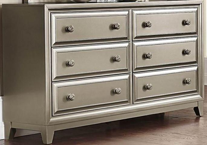 Hedy Silver Dresser
