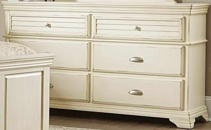 Laurinda Antique White Dresser