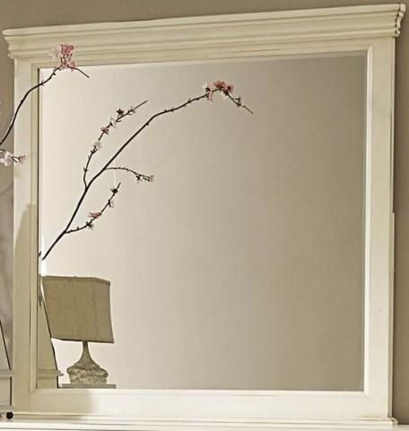 Laurinda Antique White Mirror