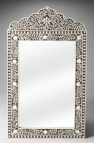 Victoria Bone Inlay Heritage Wall Mirror