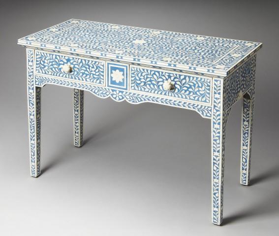 Olivia Bone Inlay Heritage Console Table