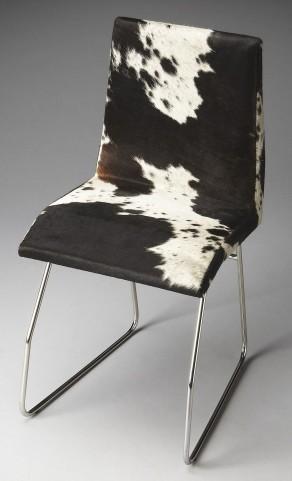 Abilene Loft Nickel Side Chair