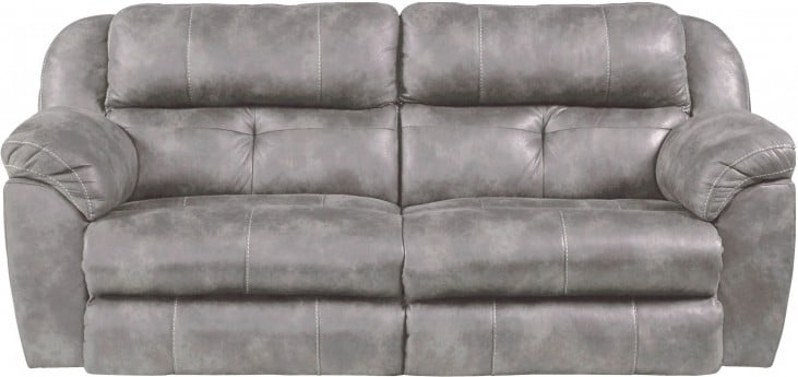 Ferrington Steel Power Lay Flat Reclining Sofa 61891 1300