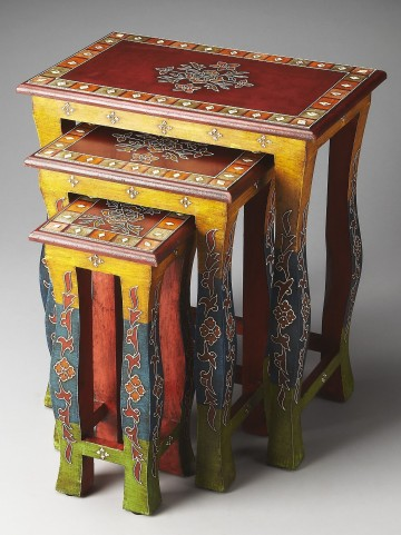 Sasha Artifacts Nesting Tables
