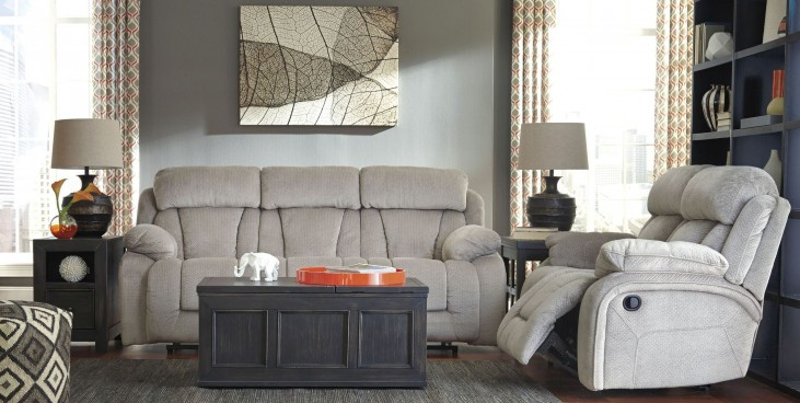 Stricklin Pebble Power Reclining Living Room Set