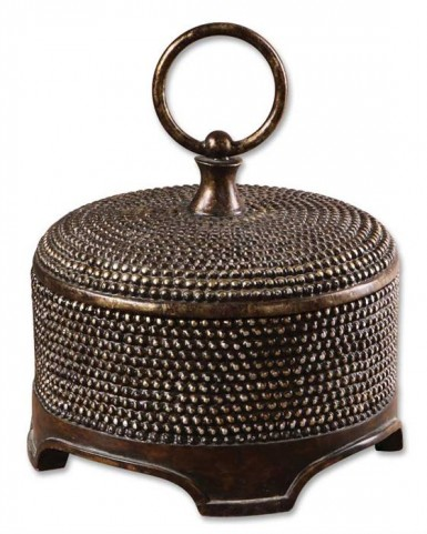 Aubriana Distressed Decorative Box