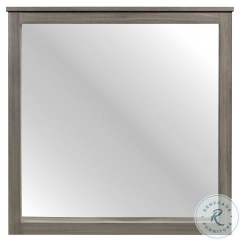 Waldorf Dark Gray Mirror