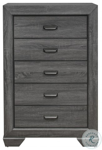 Beechnut Gray Youth Panel Bedroom Set
