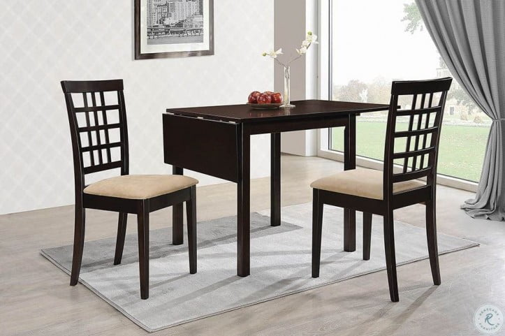 Kelso Cappucino Extendable Dining Room Set