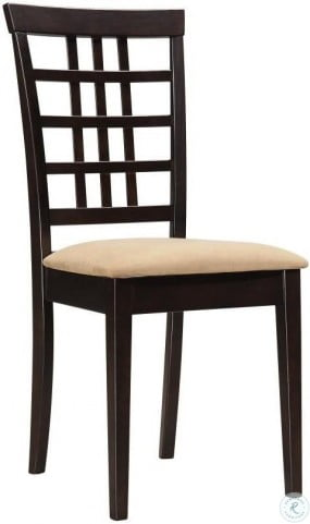 Kelso Tan Dining Chair Set Of 2