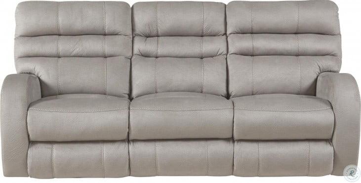 Kelsey Aluminum Power Lay Flat Reclining Sofa