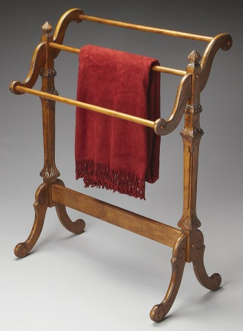 Masterpiece Newhouse Vintage Oak Blanket Stand