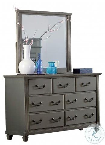 Granbury Gray Mirror