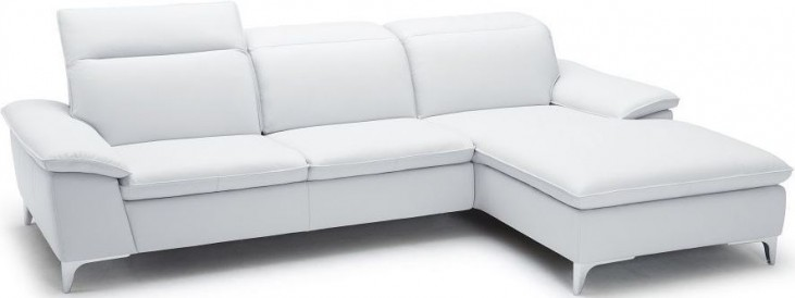 1911B White RAF Chaise Sectional