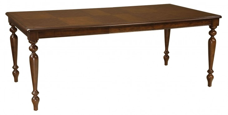 Woodmont Brown Cherry Entendable Dining Table
