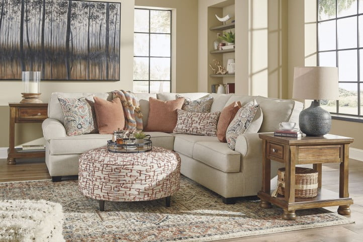 Amici Linen Small LAF Sectional