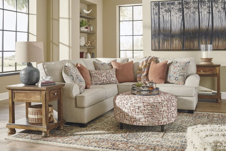 Amici Linen Small RAF Sectional