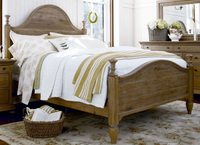 Down Home Oatmeal King Bed