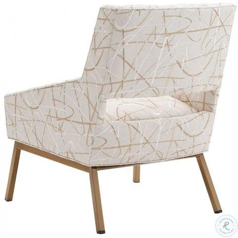 Kitano Amani Brass Chair