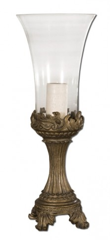 Rococo Golden Hurricane Candleholder
