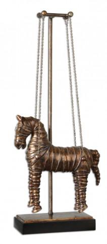 Stedman Horse Copper Bronze Sculpture