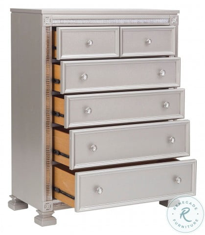 Bevelle Silver Chest