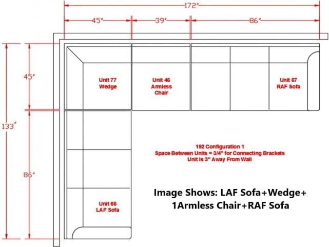 Rawcliffe Parchment 4 Piece Sectional