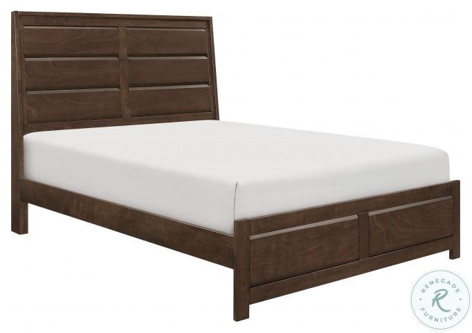 Erwan Rich Espresso King Panel Bed