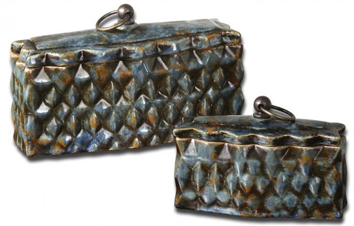 Neelab Ceramic Containers, Set of 2