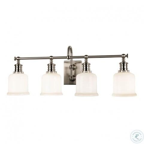 Keswick Satin Nickel 4 Light Bath Bracket