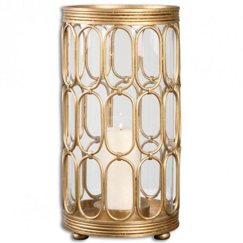 Sosi Gold Candle Holder