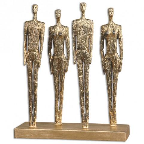 Ten-Hut Gold Sculpture
