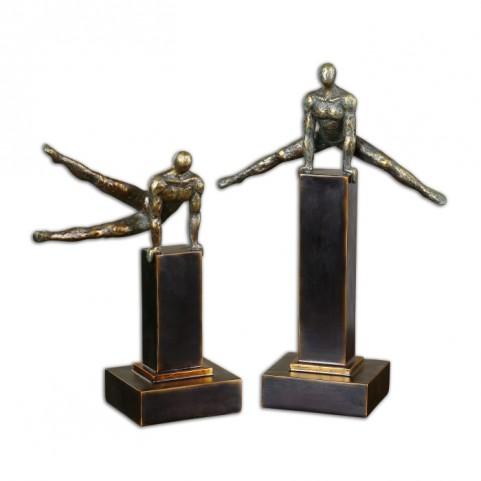 Pommel Sculptures Set of 2