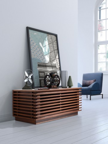 Linea Walnut Small Console