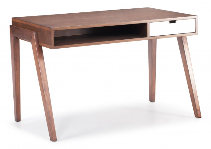 Linea Walnut Desk