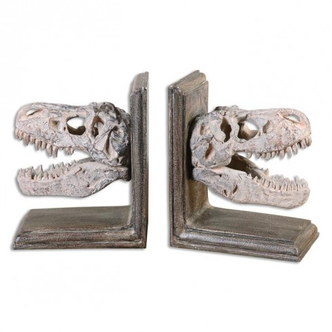 Dinosaur Bookends Set of 2