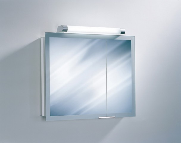 "Axara 35"" White Mirror Cabinet"