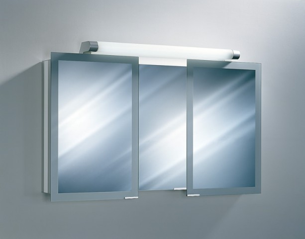 "Axara 51"" White Mirror Cabinet"