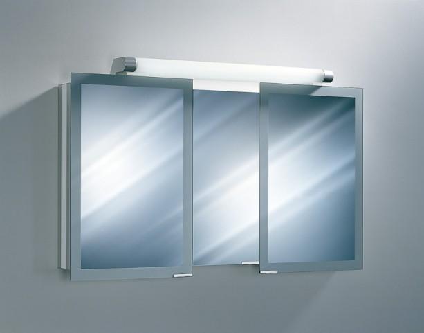 "Axara 59"" Hinge Left White Mirror Cabinet"